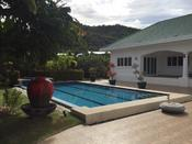 H0140 ::: SPECTACULAR PRIVATE 4 BEDROOM POOL VILLA IN HUA HIN FOR SALE