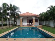 H0137 ::: 3 BEDROOM HOUSE WITH PRVATE POOL IN HUA HIN FOR SALE